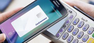 Оплата с помощью Samsung Pay