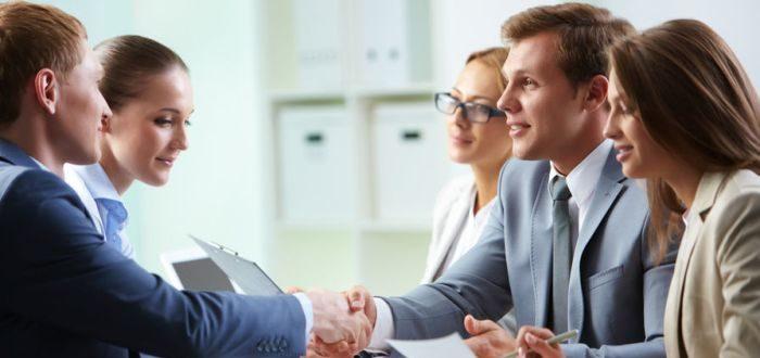 Встреча деловых людей